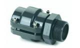 Airpipe adapter uitwendige schroefdraad met connector
